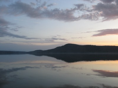x Otsego Lake Morning Reflections