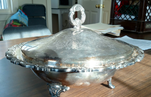 Sterling Plate Chafing Dish