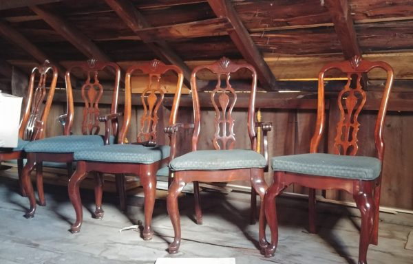 Cushioned Dining Room Chairs